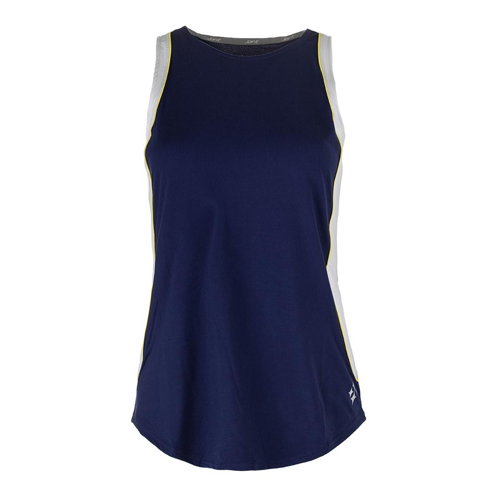 Women's Ace Tennis Tank Blue Depth