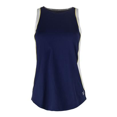 Women`s Ace Tennis Tank Blue Depth