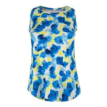 Women`s Volley Tennis Tank Phoenix Watercolor Print