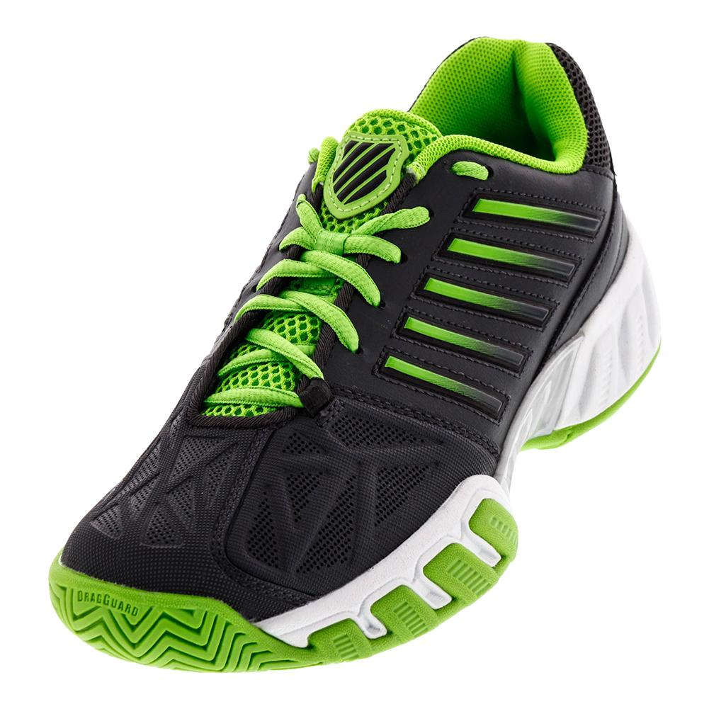Juniors ` Bigshot Light 3 Tennis Shoes Dark Shadow And Jasmine Green