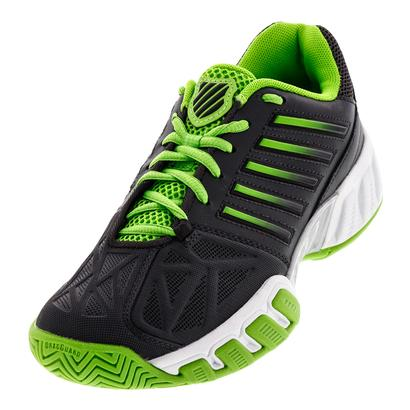 Juniors` Bigshot Light 3 Tennis Shoes Dark Shadow and Jasmine Green