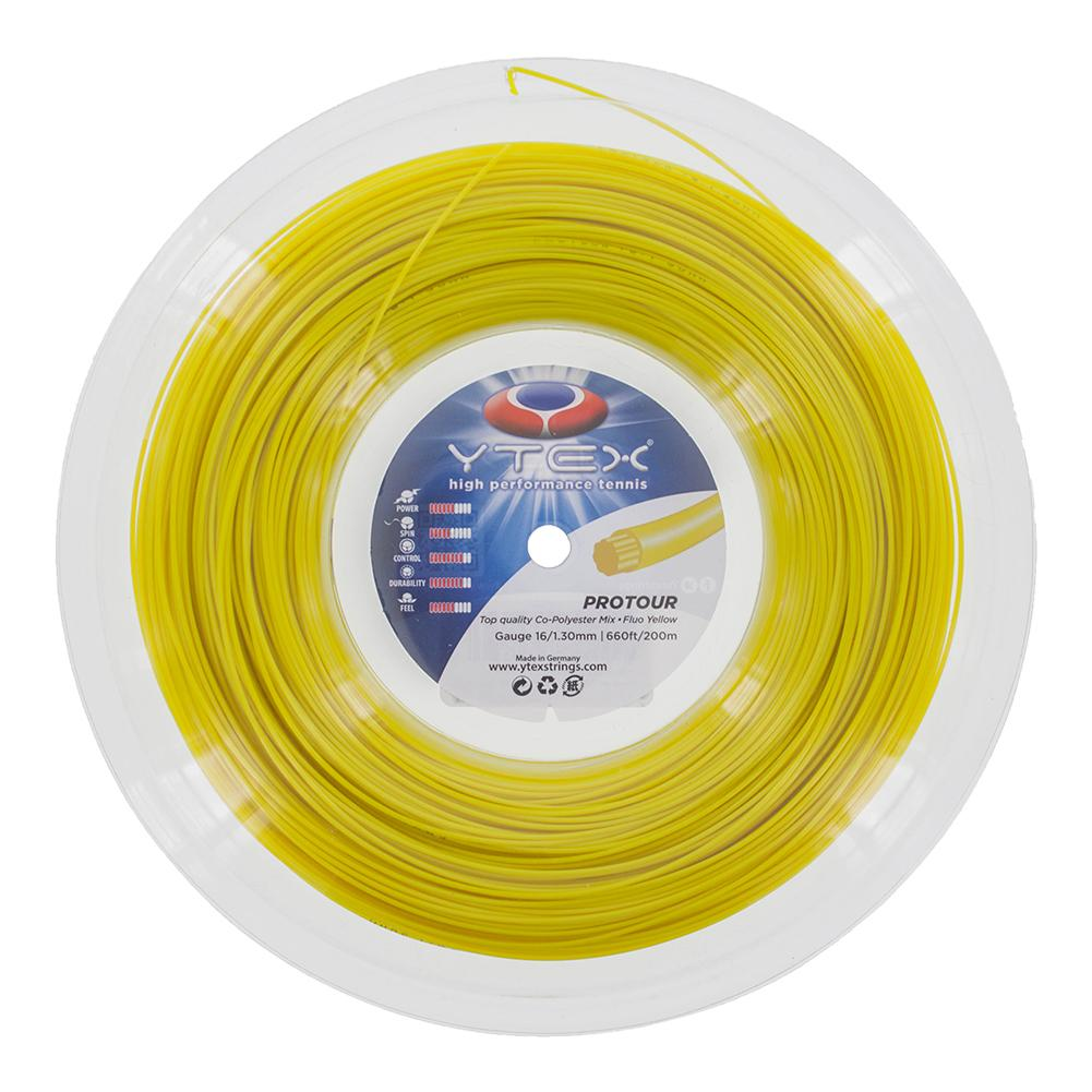 Protour Fluo Yellow 1.30mm/16g Tennis String Reel