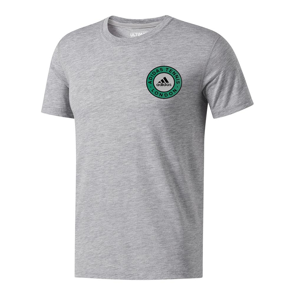 Men's Reign On The Court Tennis Tee Gray