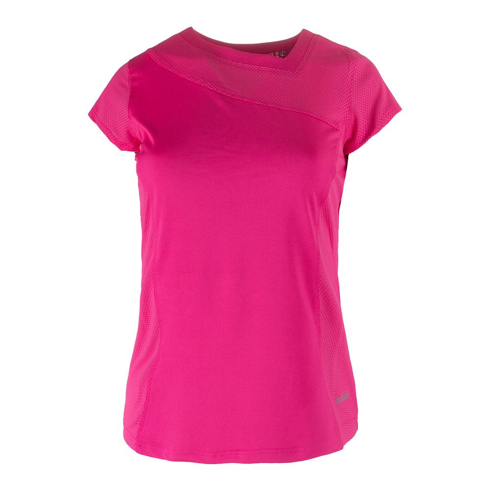 Women's Cap Sleeve Tennis Top Azalea