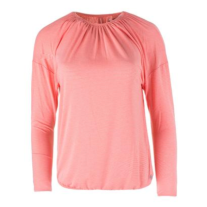 Women`s Fearless Long Sleeve Tennis Top Seashell