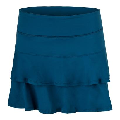 Women`s Match Tennis Skort Pacific Blue