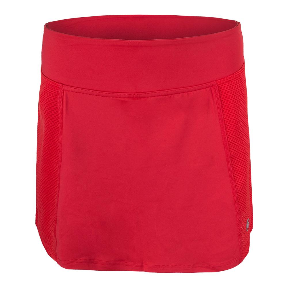 Women's Rush Tennis Skort Lava Red