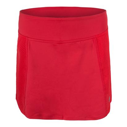 Women`s Rush Tennis Skort Lava Red