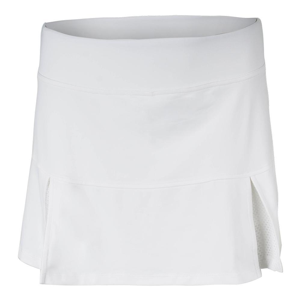 Women's Pleat Tennis Skort White