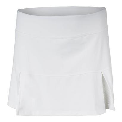 Women`s Pleat Tennis Skort White