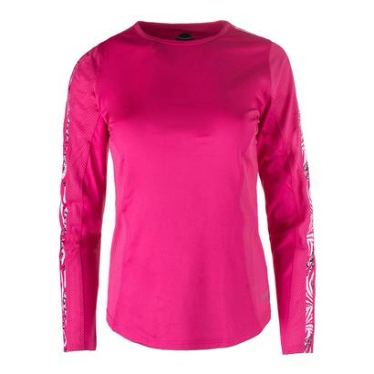 Women`s Long Sleeve Tennis Top Azalea