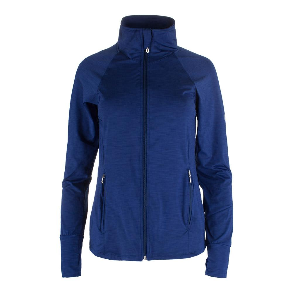 Women's Slow Burn Tennis Jacket Peony