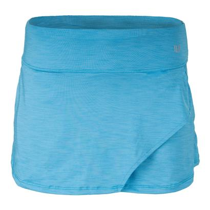 Women`s Fly 13 Inch Tennis Skort Cyan