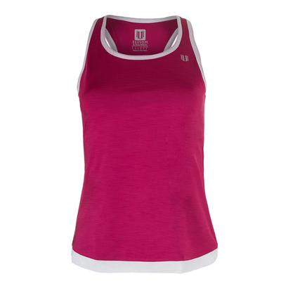 Women`s Ashram Tennis Tank Cherry