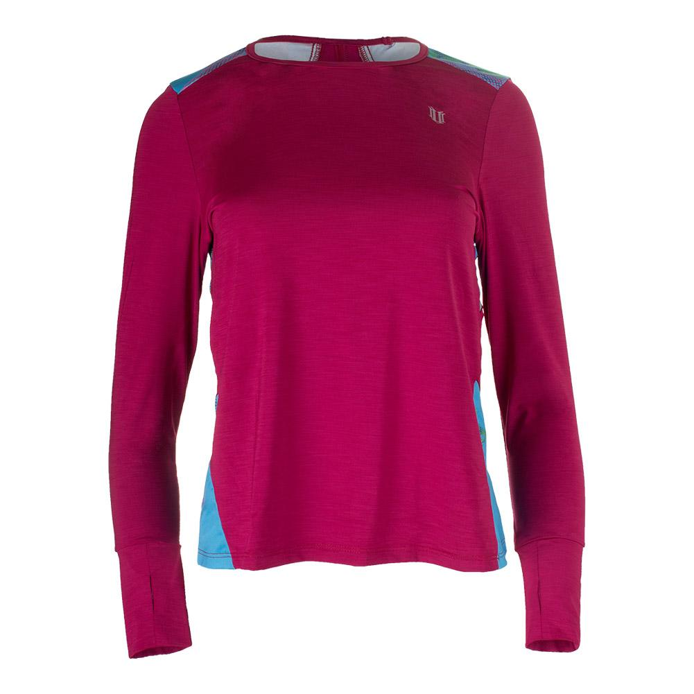 Women's Xtreme Long Sleeve Tennis Top Cherry