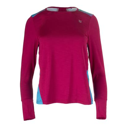 Women`s Xtreme Long Sleeve Tennis Top Cherry