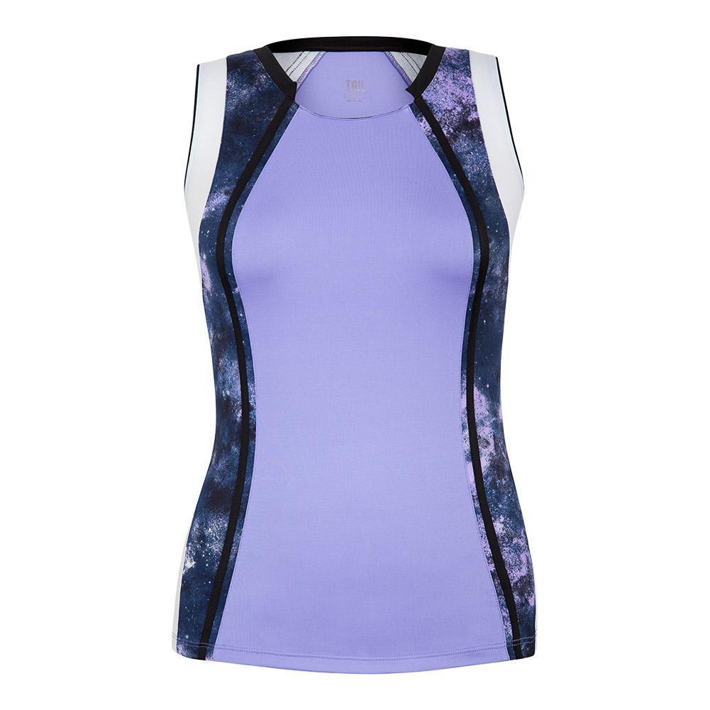 Women's Sienna Tennis Tank Lavender