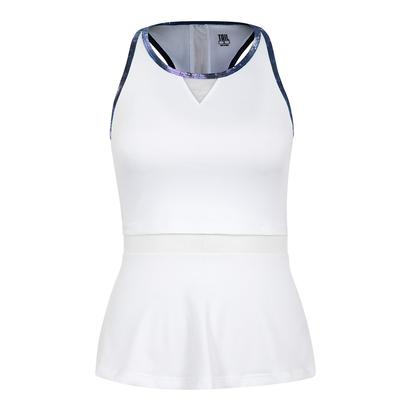 Women`s Catalina Tennis Tank White
