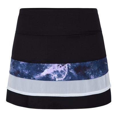 Women`s Krishna 13.5 Inch Tennis Skort Galaxy and Black