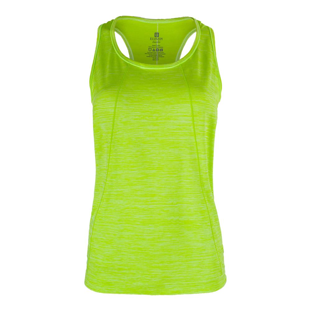 Women's Flawless Tennis Tank Sharp Green