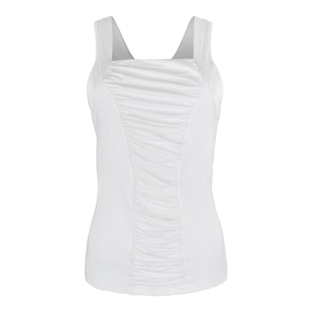 Women's Resistance Tennis Tank White