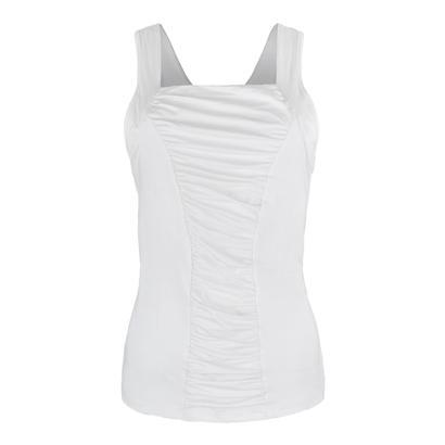 Women`s Resistance Tennis Tank White