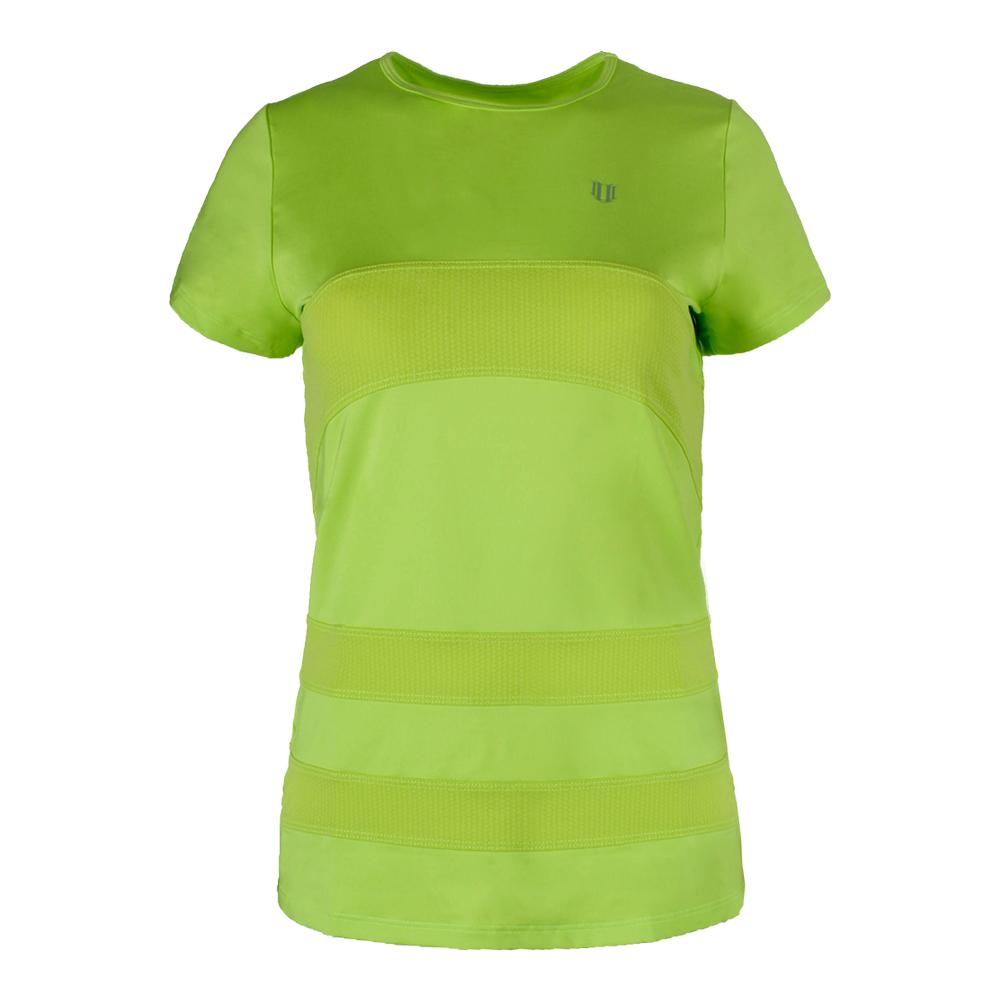 Women's Condition Tennis Tee Sharp Green