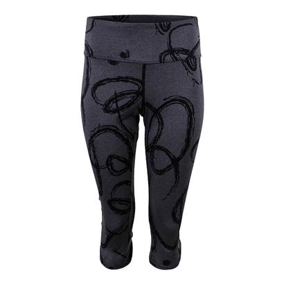 Women`s Vee Tennis Capri Oh and Oh Print