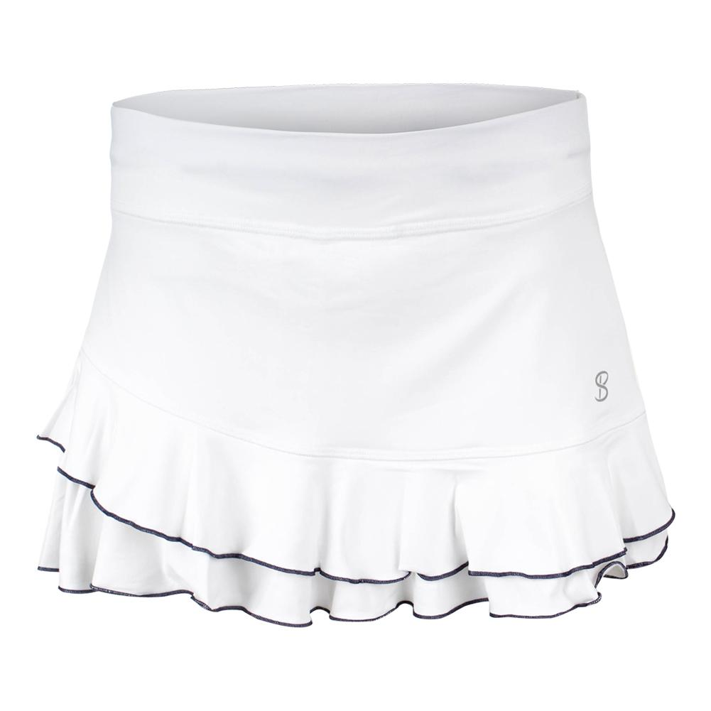 Women's 12 Inch Tennis Skort White