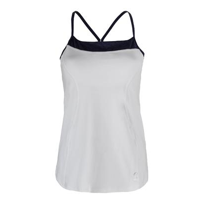 Women`s Athletic Tennis Cami White