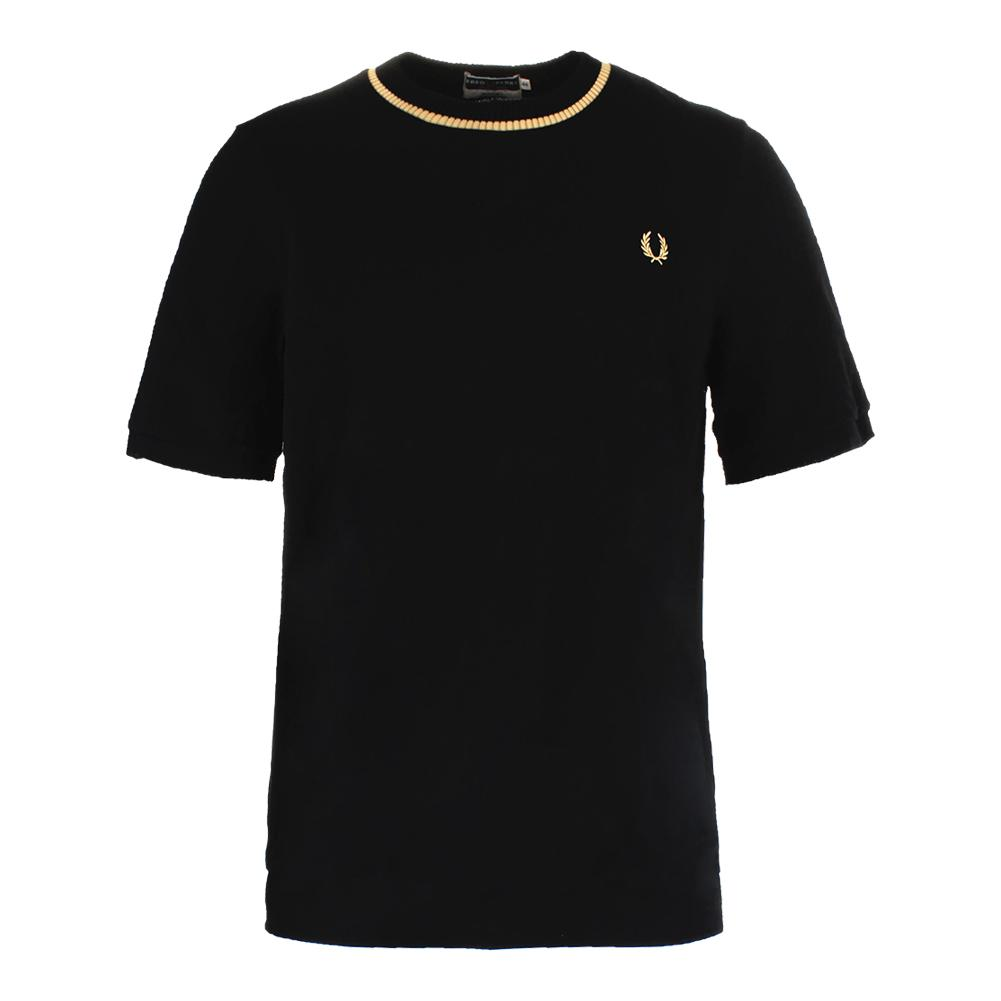 Men's Crew Neck Pique Tennis Top