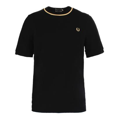 Men`s Crew Neck Pique Tennis Top