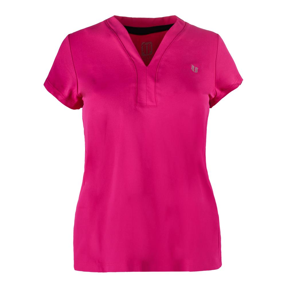 Women's Winners Tennis Tee Eleven Berry
