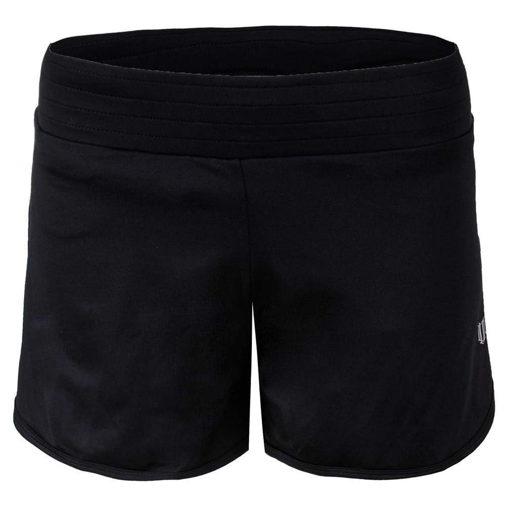 Women's Third And Short Black
