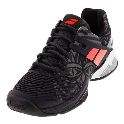 Men`s Propulse Fury All Court Tennis Shoes Tribal Black