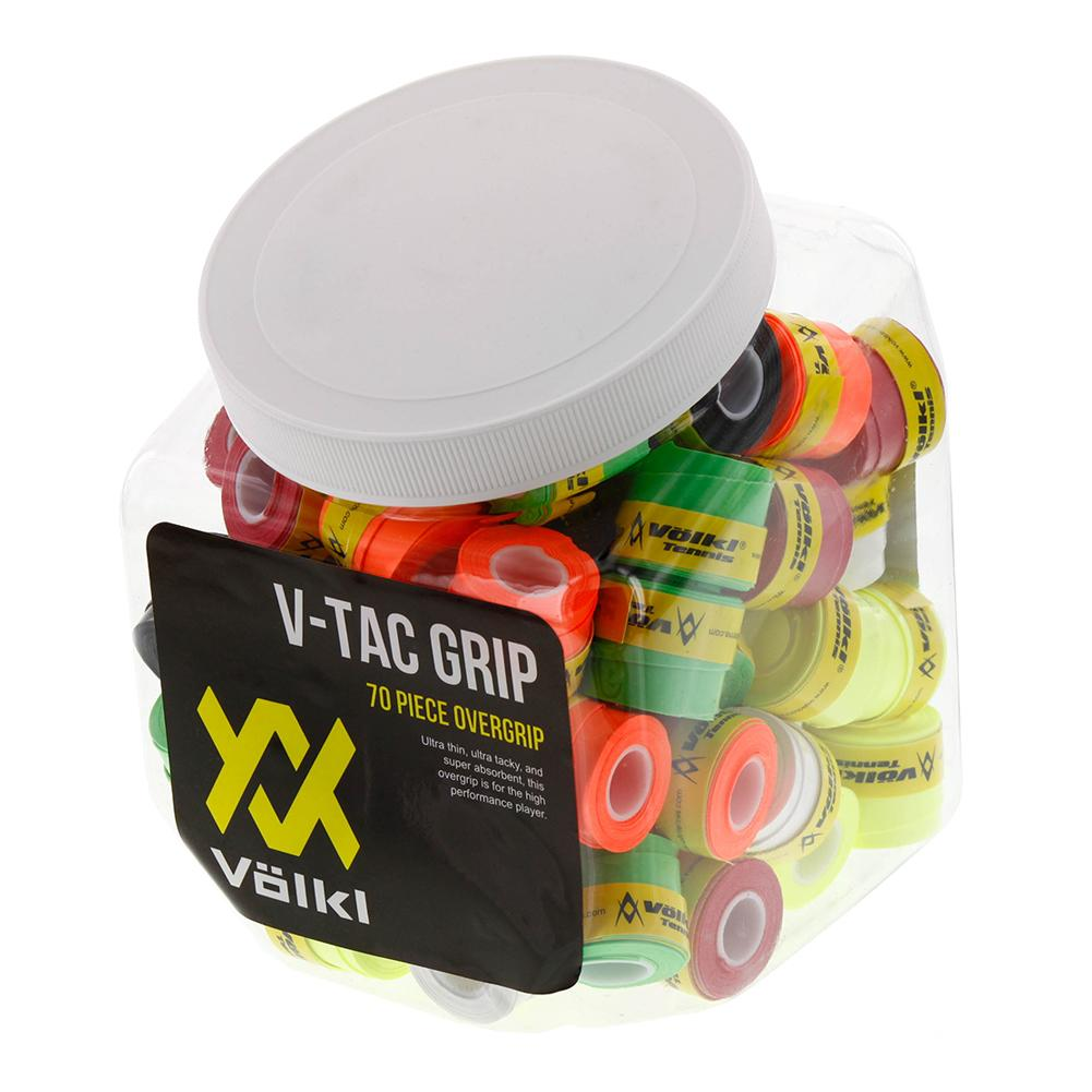 V- Tac Tennis Overgrip Jar 70 Count