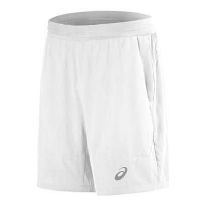 Men`s Athlete 7 Inch Tennis Short Real White