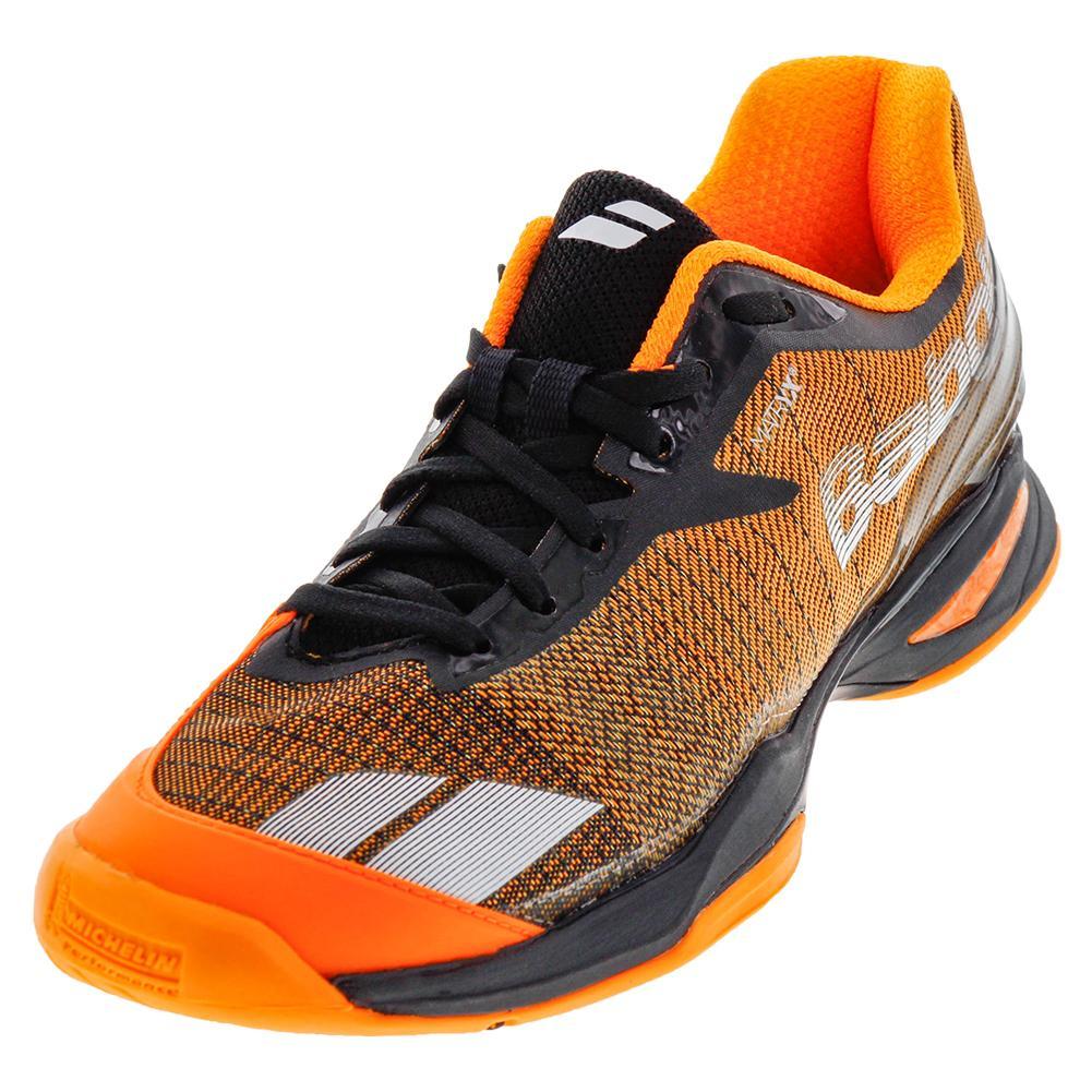 Men's Jet All Court Tennis Shoes Orange