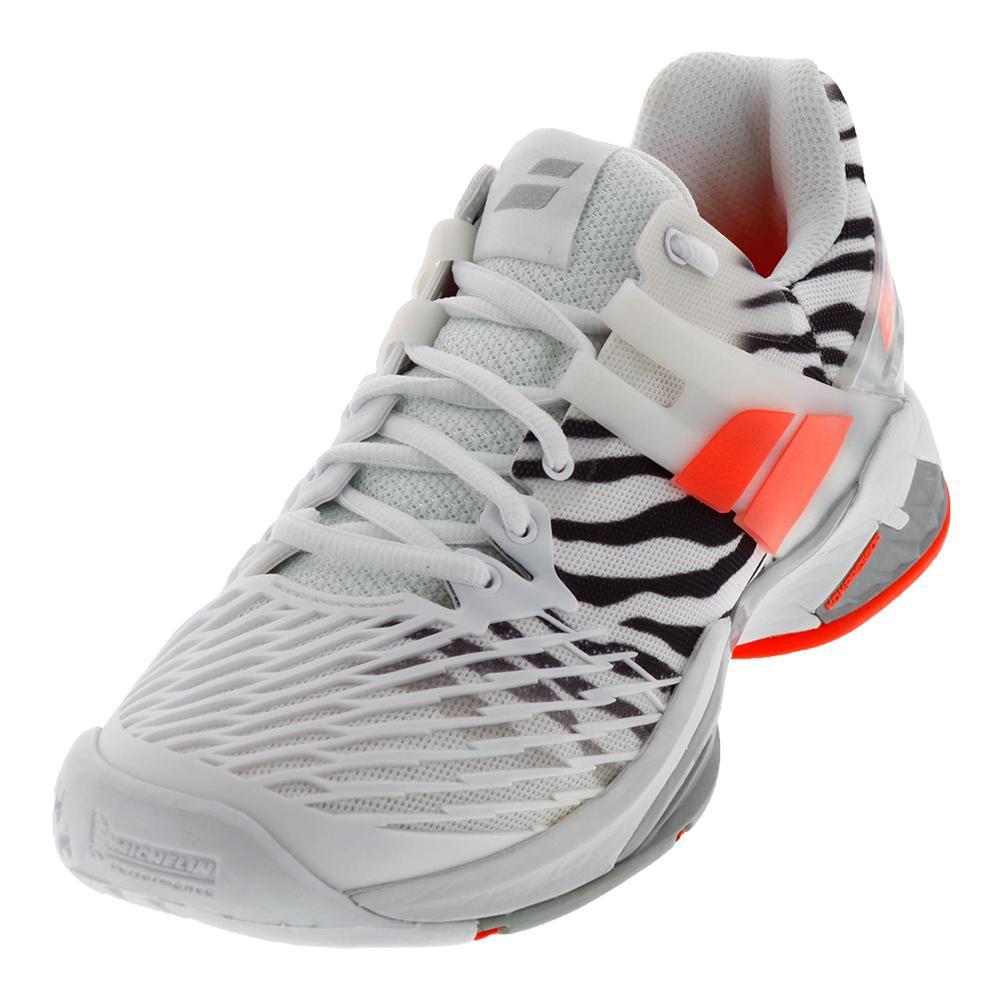 Women's Prop Fury All Court Tennis Shoes Zebra