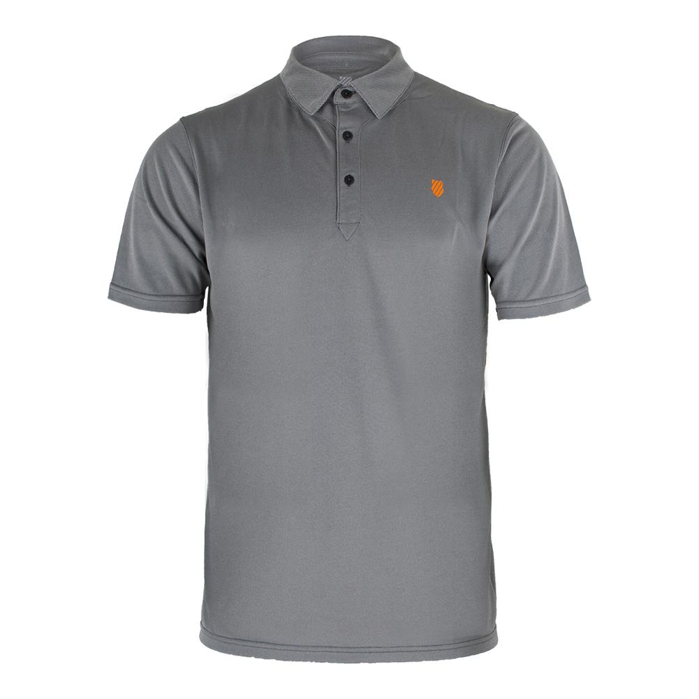 Men's Bb Tennis Polo Dark Shadow And Autumn Glory