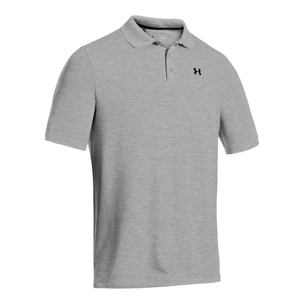 Men's Performance Polo True Gray Heather