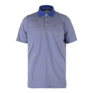 Men`s Striped Airflow Jersey Polo
