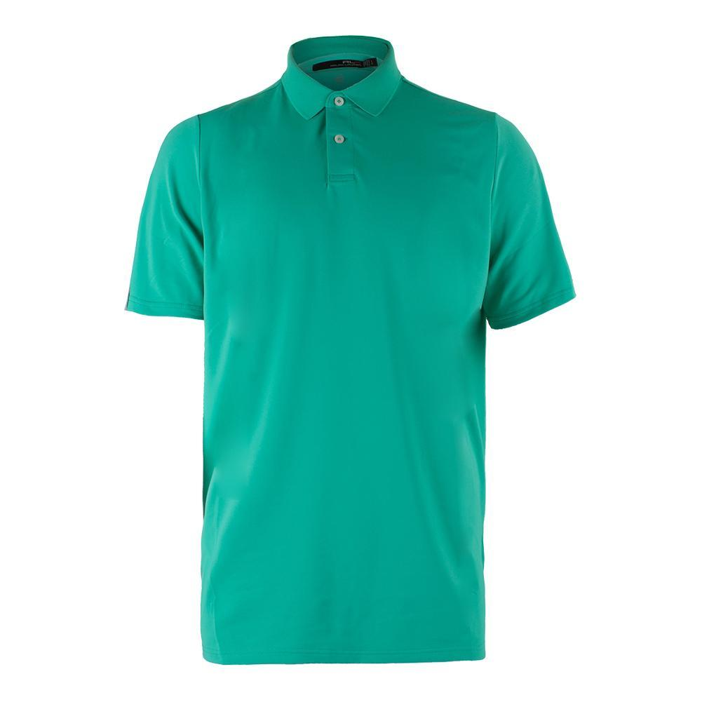 Men's Solid Airflow Jersey Polo