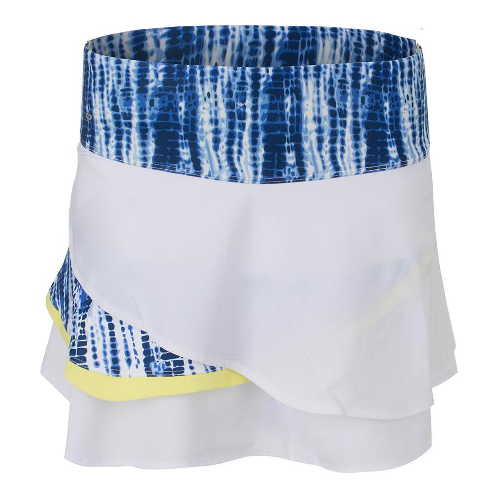 Women's Sapphire 13.5 Inch Tennis Skort White