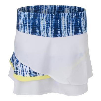 Women`s Sapphire 13.5 Inch Tennis Skort White