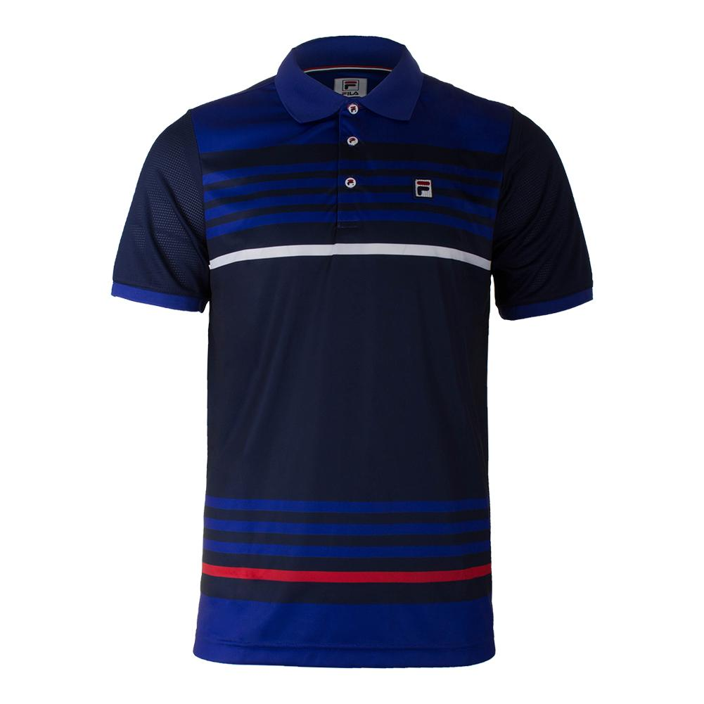 Men's Heritage Stripe Tennis Polo