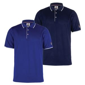 Men`s Heritage Mesh Tennis Polo
