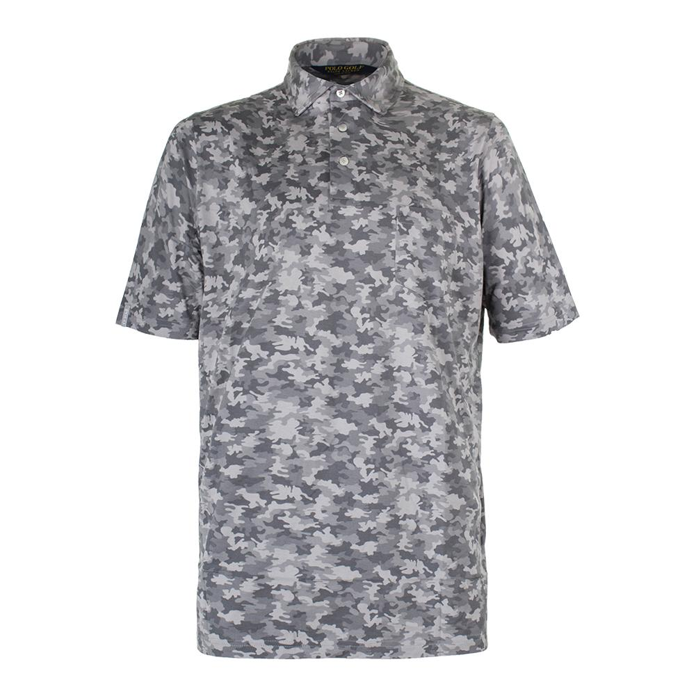 Men's Printed Lux Jersey Design Gray Camo