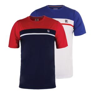 Men`s Heritage Contrast Yoke Tennis Crew