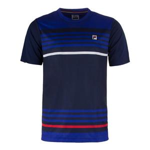 Men`s Heritage Stripe Tennis Crew